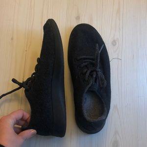 allbirds Shoes - Allbirds Women's Wool Runners in Natural Black